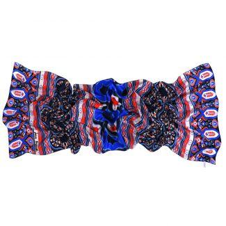 Silk shawl Laura Biagiotti Moroccan Bazaar blue