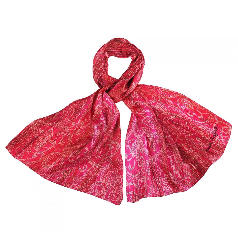 Silk shawl Laura Biagiotti Ballroom Time pink