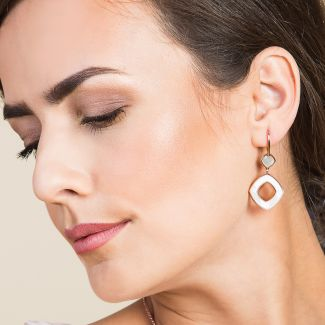 Prestige silver earrings