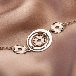 Gift: Silver necklace and bracelet Urban Energy