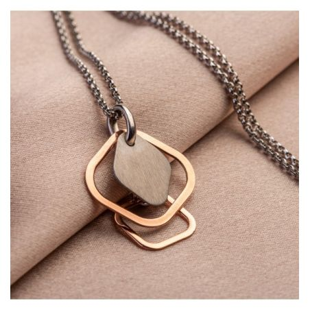 Gift: 3 Silver necklaces set - Prestige, Everyday Look si Geometry