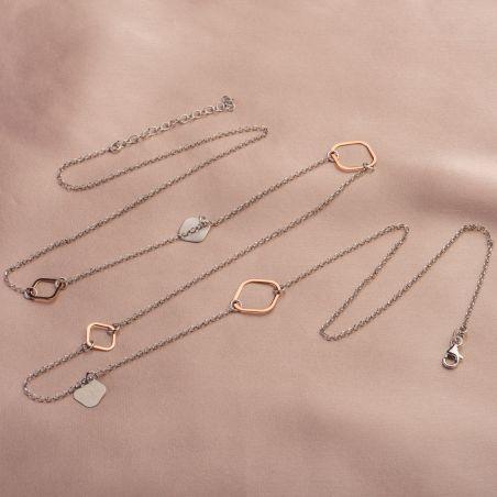 Cadou: Set 3 coliere argint - Prestige, Everyday Look si Geometry