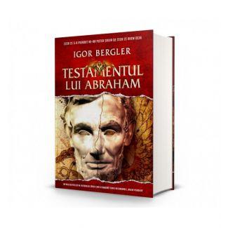 Cadou: Esarfa matase si lana Anvers rosu si bestseller-ul Testamentul lui Abraham