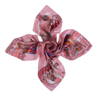 Make a Wish candy silk scarf