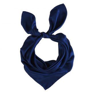 Navy L. Biagiotti silk scarf