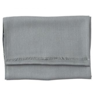 Silk, cashmere and wool scarf Mila Schon Special grey