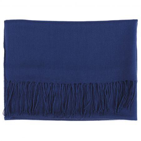 Wool Scarf Mila Schon blue