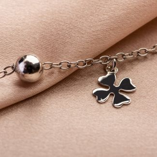 A little bit of luck! silver bracelet