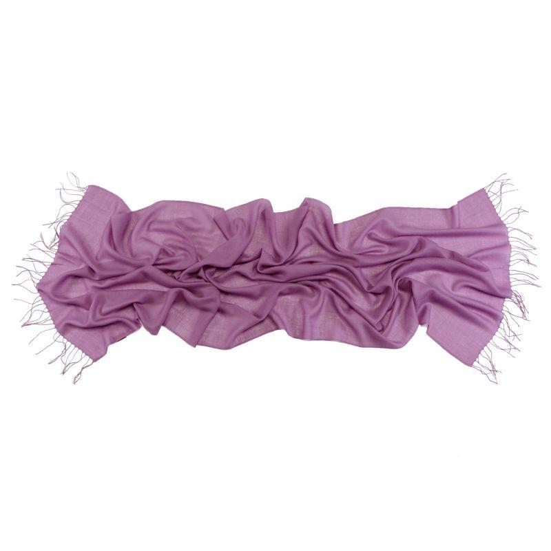 Wool Scarf Mila Schon lilac