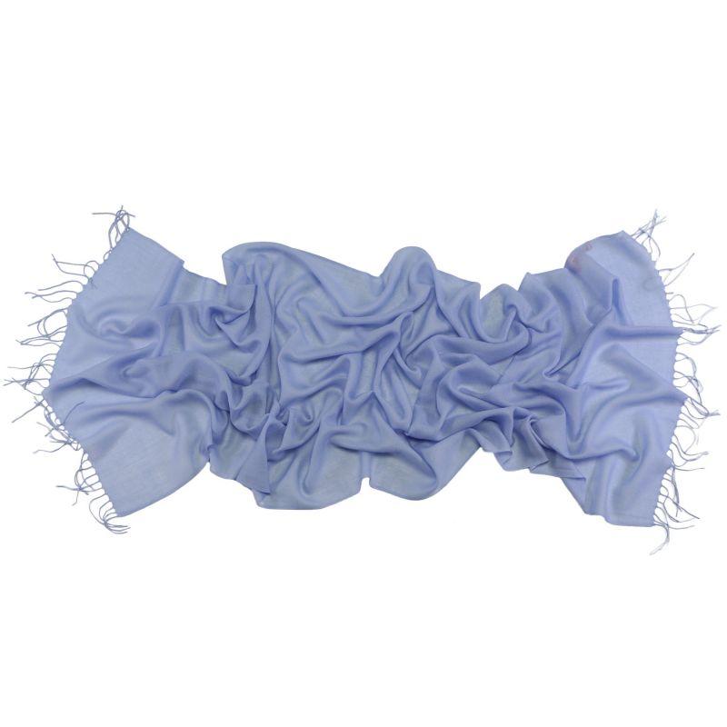 Wool Scarf Mila Schon pale blu