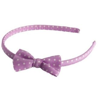 Headband cu fundita Pretty Woman lila