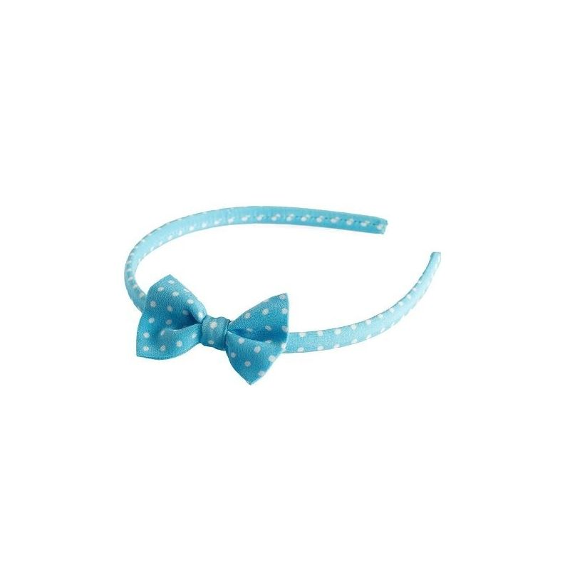 Headband cu fundita Pretty Woman turcoise