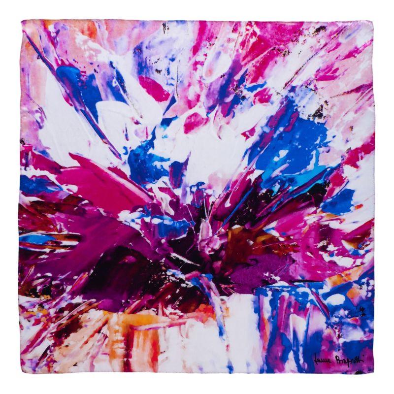 Esarfa matase True Colors violet