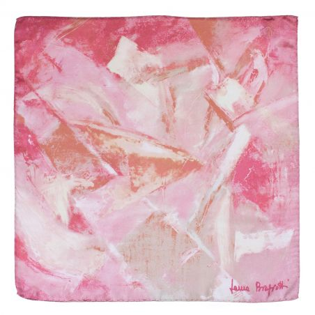 Silk scarf First Moment rose blush