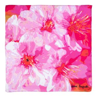 Esarfa matase Just Spring pink
