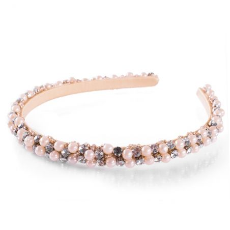 Glamour Headband with Pearls