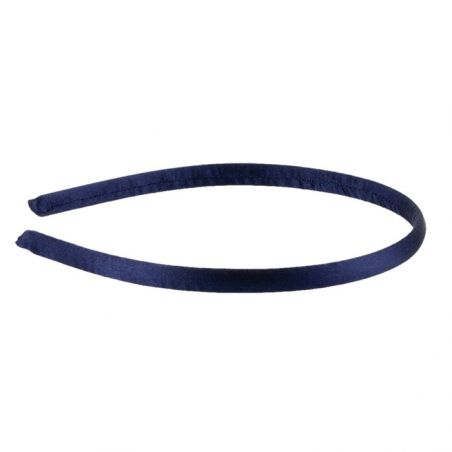 Navy-blue headband