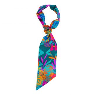 Flounce Scarf Chanson Coloniale