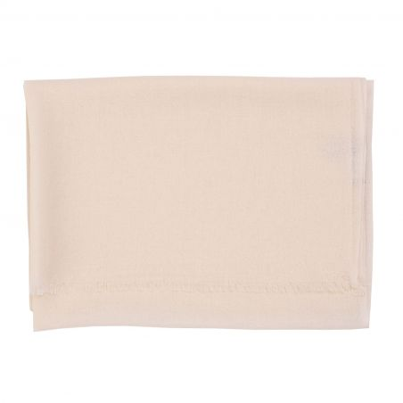 Wool and cashmere ivory scarf Marina D' Este