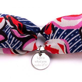 Silk Bracelets La Vie en Rose
