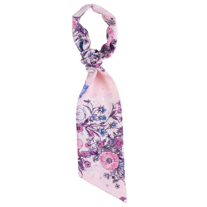 Flounce Scarf Inspire Pink