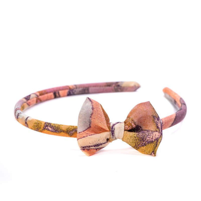 Headband cu fundita Dolce Vita Coral
