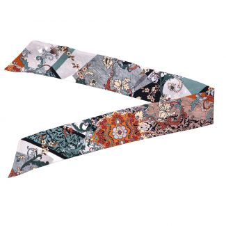 Silk Scarf Remember Sienna