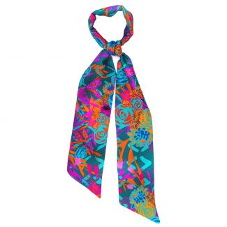 Silk Scarf Chanson Coloniale
