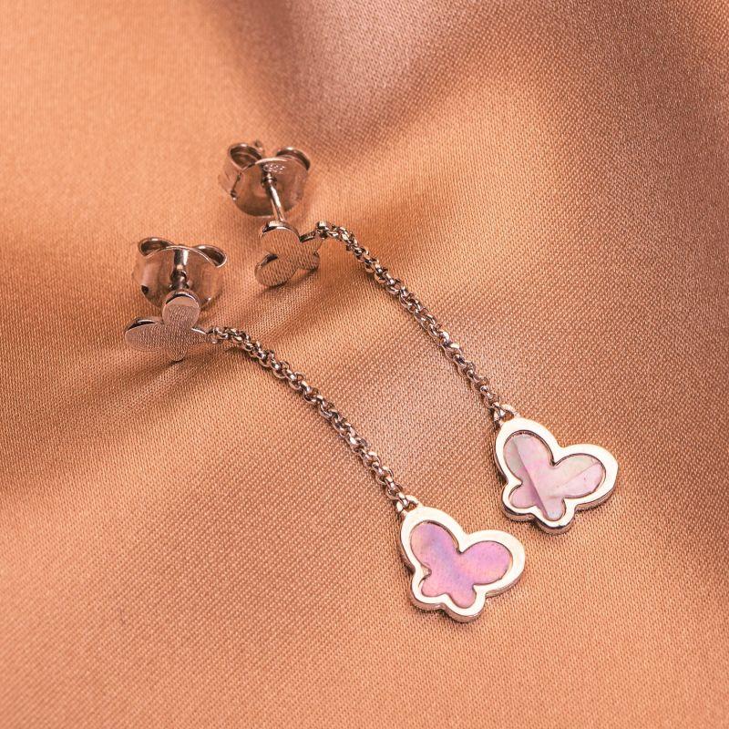Sterling Silver Earrings Delicate Dance