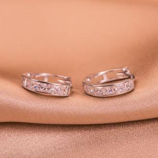 Cercei argint Classy & Glam