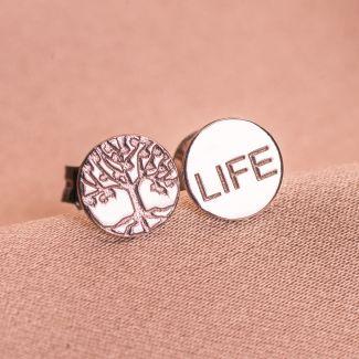 Cercei argint Live, Faith