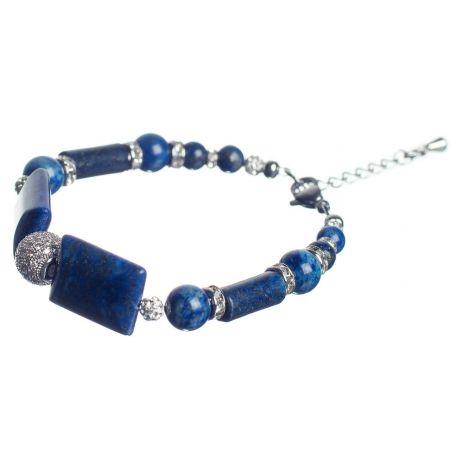 Lapis Lazuli Luxury Bracelet