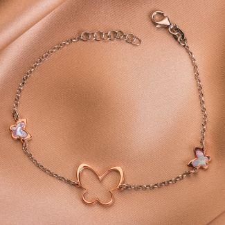 Sterling Silver Bracelet Metamorphosis