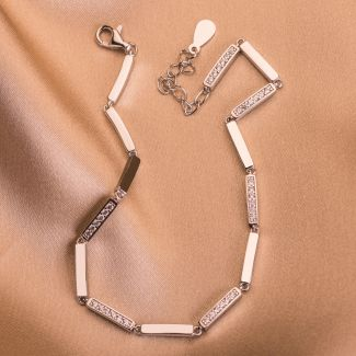 Sterling Silver Bracelet Touch of Elegance