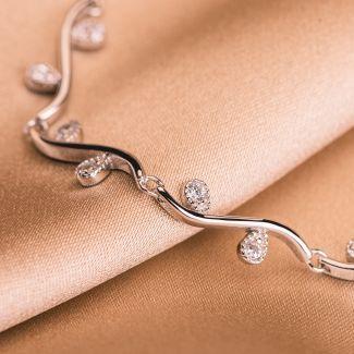 Sterling Silver Bracelet Finesse