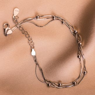 Sterling Silver Bracelet Cool Connection