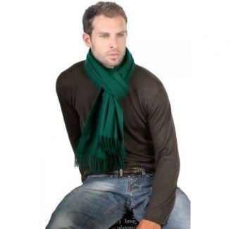 Fular casmir Verde Inglese