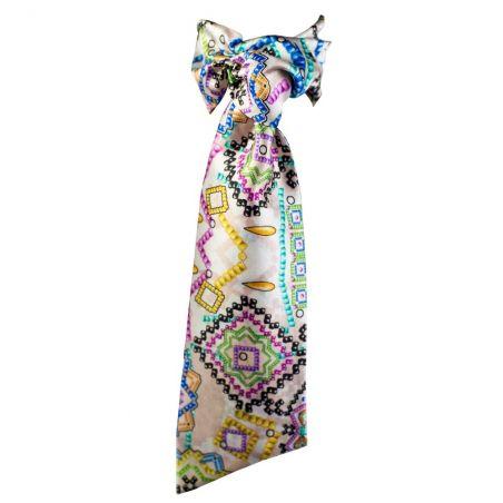 Eşarfă cu volan Candy Bar