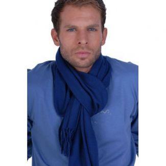 Cashmere foulardTwilight Blue