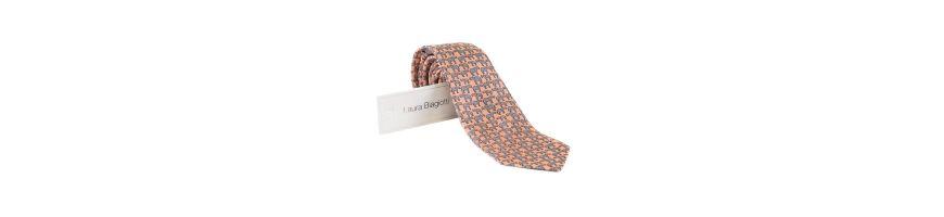Cravate pentru barabti, din matase naturala, cu imprimeuri vesele